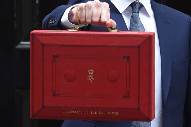 Budget 2020 Chancellors Red Briefcase